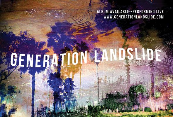 Generation Landslide Postcard